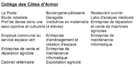 Stages De Troisieme L Egalite Des Chances S Arrete A La Superette